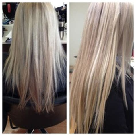 micro bead hair extensions on hair before and after micro bead hair extensions