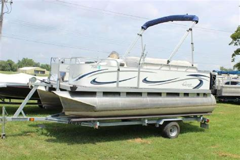 used pontoon boats for sale in illinois pontoon new and used boats for sale in illinois