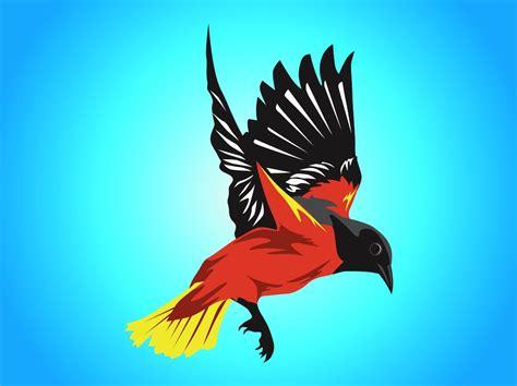 imagenes de karma bird fly colorful bird vector art graphics freevector com