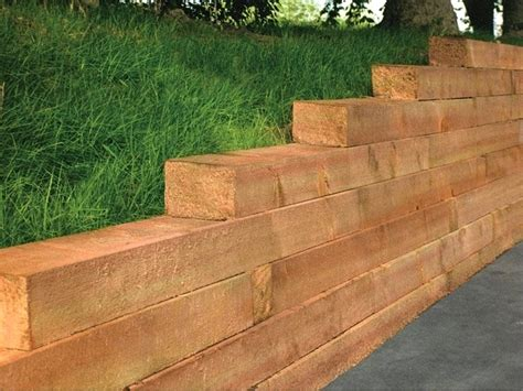 landscaping timbers landscape timbers around trees