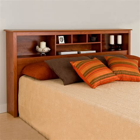 King Size Bed With Shelf Headboard by King Size Bookcase Headboard In Beds And Headboards