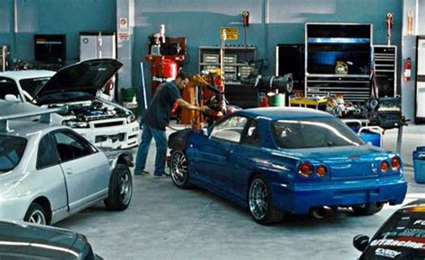 blue nissan skyline fast and furious brian s blue nissan skyline gt r in the original fast and
