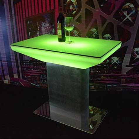 Led Bar Table Led Illuminated Tables Power Lights Co Ltd