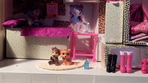 youtube barbie doll house homemade barbie doll house and room tour youtube