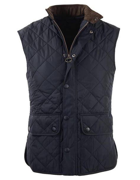 Quilted Vest by Barbour Lowerdale Quilted Vest In Blue Lyst