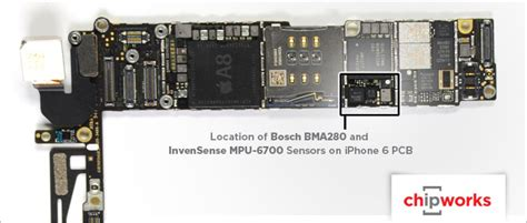 iphone 6 and 6 plus equipped with two accelerometers for power management improved user
