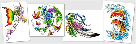 tattoo designs amp symbols fairy flames flower frog