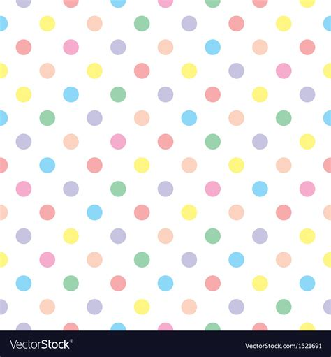 colorful baby seamless sweet colorful baby dots white background