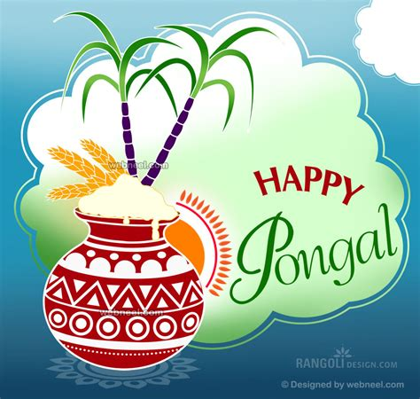 how to make pongal greeting card pongal kolam design by webneel 20 preview