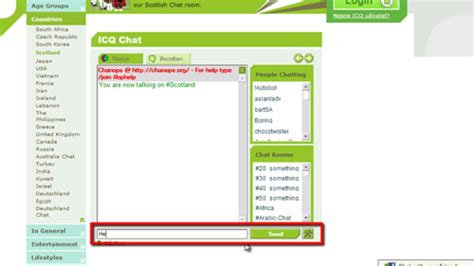 icq chat rooms pidgin the universal chat client