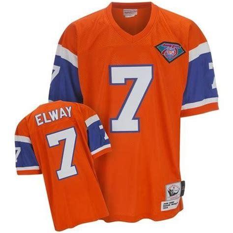throwback orange elway 7 jersey original design of designers p 140 17 best images about broncos on football