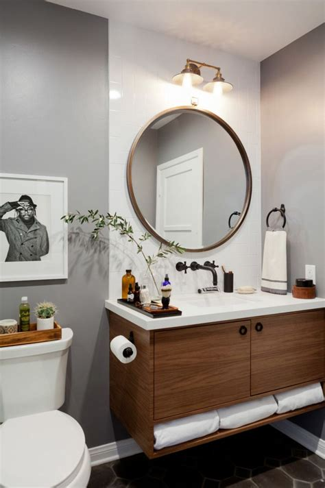 round mirror bathroom best 25 round bathroom mirror ideas on pinterest