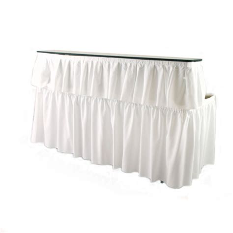 6 ft table skirt 6 ft bar table with skirting a z rent all