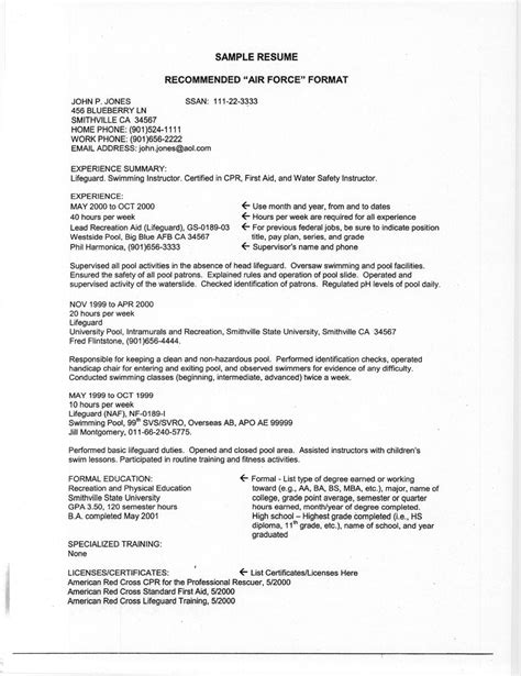 air resume resume ideas