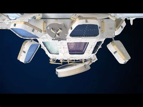 Cupola Space Station by Astronaut Demonstrates The Space Observatory Cupola Iss