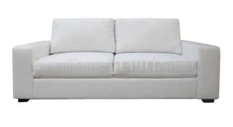 modern white leather loveseat white bonded leather modern 2pc sofa loveseat set