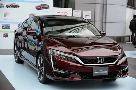 how make cars 2012 honda fcx clarity electronic toll collection honda to create green clarity family with ev plug in hybrid variants
