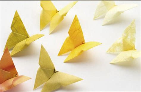 How To Make A 3d Origami Butterfly - c 243 mo hacer una mariposa en origami
