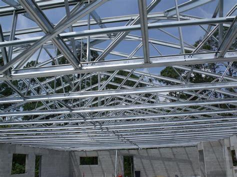 light gauge steel truss system roof trusses design decor and ideas diy