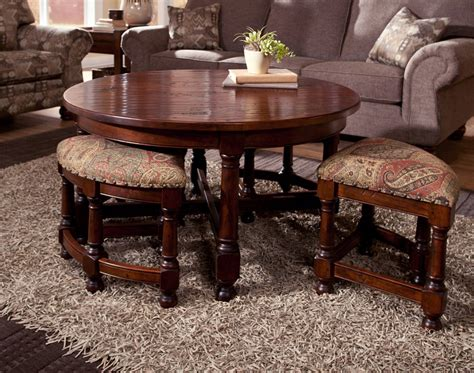 Table With Stools by Coffee Table With Stools Underneath Home Design Ideas