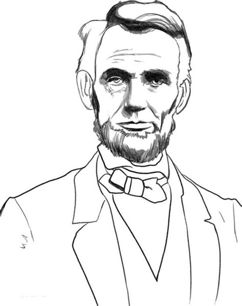 abraham lincoln coloring pages abe lincoln coloring pages coloring pages for free
