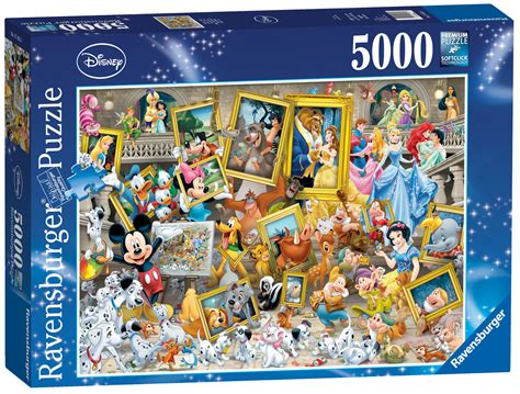 Best Terlaris Puzzle Jigsaw Disney Princess Panorama 1000 Pcs Sni 17432 ravensburger disney multicharacter jigsaw 5000
