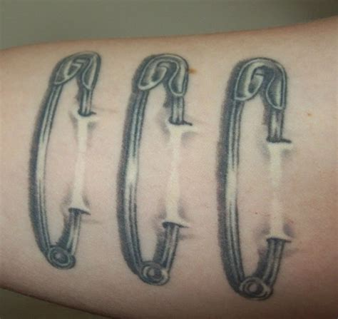 safety pin tattoo safety pins picture at checkoutmyink