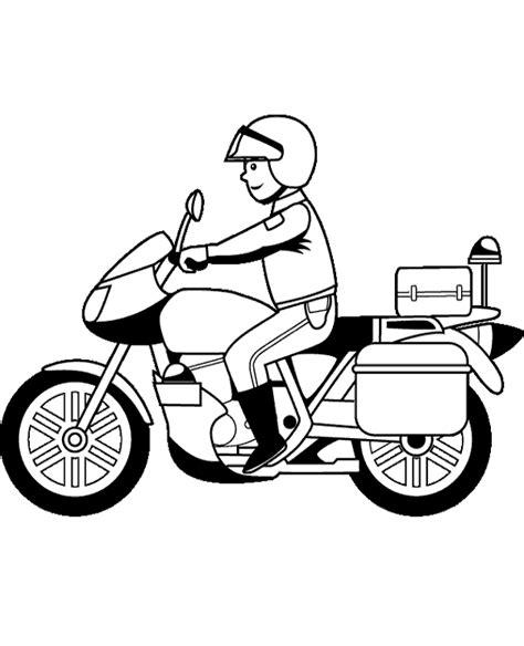 coloring pages police motorcycle police motorcycle coloring pages color bros