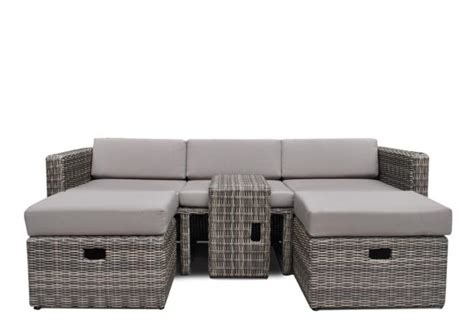 Lounge Sofa Outdoor Polyrattan by Rattan Loungem 246 Bel Gartensofa Hannover 3 5 Sitzer Farbe