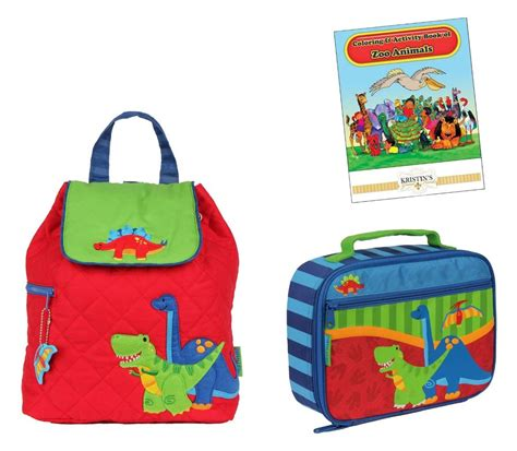 Toddler Quilted Backpack by Stephen Joseph Quilted Backpack Lunch Box Set Toddler