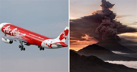 airasia mount agung airasia and mas cancel flights to bali after red alert