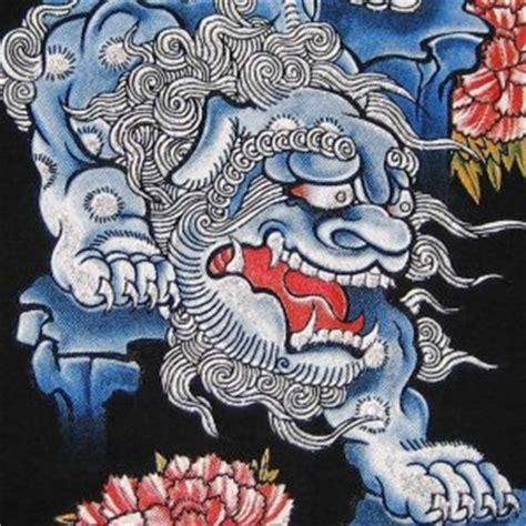 dragon tattoo okinawa shisa lion okinawa japan ronin yakuza t shirt l black bnwt