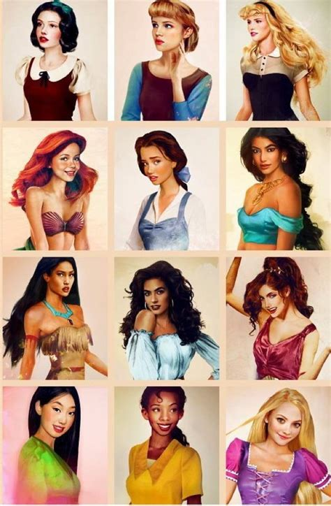 If Disney Princesses Were Real by 47 Best Images About What If They Were Humans On