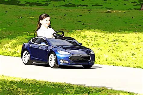 Mini Tesla Tesla S For Midgets Is Just 500 Usd Will Nissan Leaf Follow
