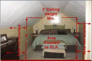 attic area how to measure a finished attic area the fannie mae 5 rule fact or myth