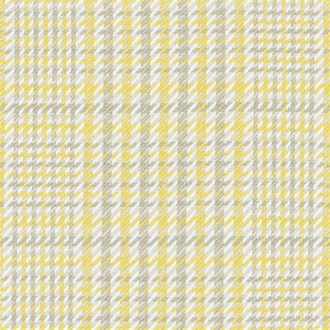 Yellow Fabric Upholstery Lemon Yellow Grey Woven Upholstery Fabric Grey White Checked