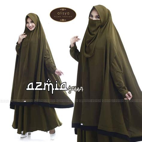 Baju Busana Muslim Setelan Wanita Zemma Avocado alisa jual busana muslim