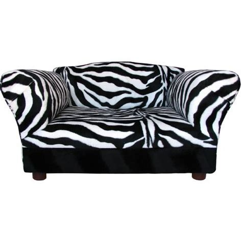 zebra print couches dog bed that looks like sofa fantasy furniture mini sofa