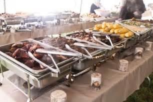 Bbq Buffet Table Ideas Bbq Wedding Must Buffet Table Set Up