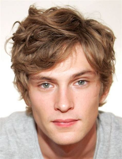 styles for boys growing out their hair short wavy men haircut with light curly bangs png ideas