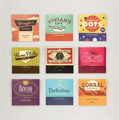 Sticker Produk Merk Br 205 criatura design design 187 32 exemplos de embalagem vintage