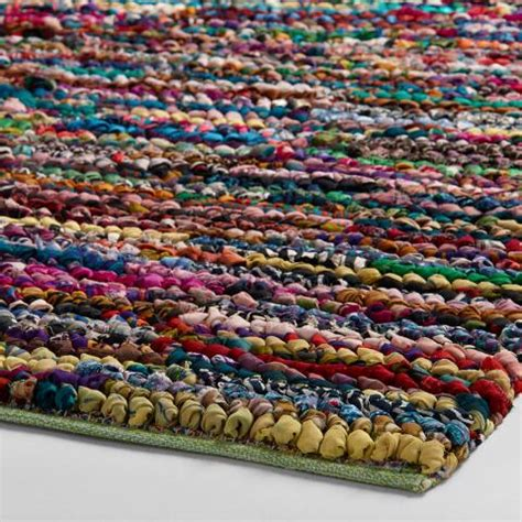 chindi rug world market 3 x5 multicolor loop chindi rug world market