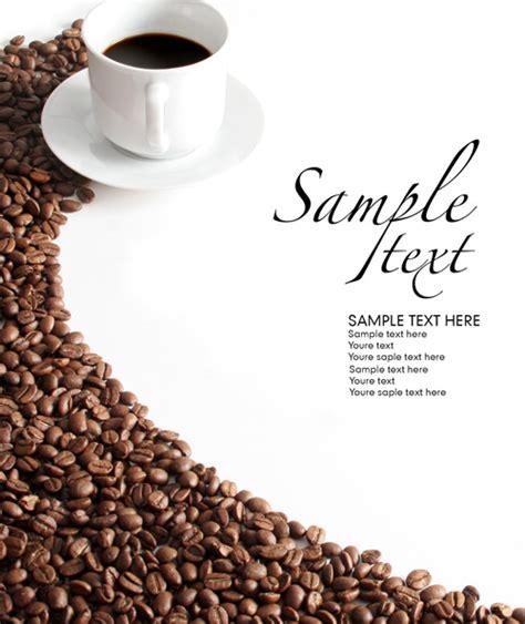咖啡豆咖啡杯 素材中国sccnn com