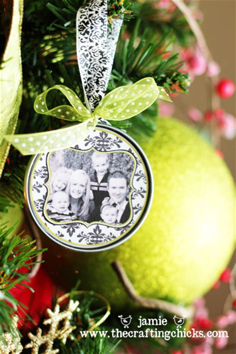 photo on ornament juice top photo ornaments totally green crafts