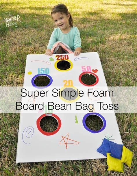 make your own bean bag toss pin by elmer s on projects for parents