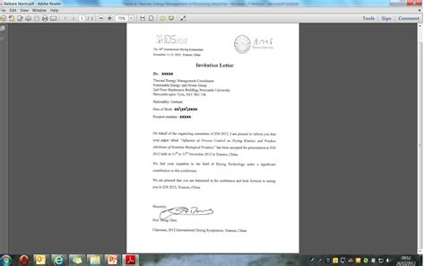 Visa Letter Of Invitation Exle Visa Application Global Secure Epsrc Funded Newcastle