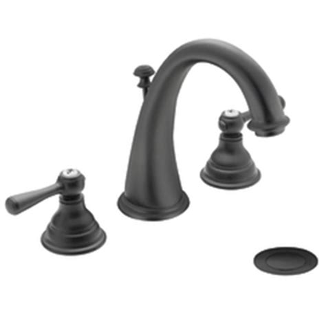 wrought iron bathroom faucet moen t6125wr kingsley two handle widespread lavatory