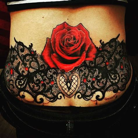 lower back tattoos roses 104 lower back tattoos tr st tattoos