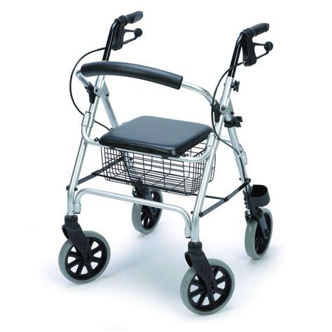 d饌mbulateur rollator 4 roues avec si鑒e et panier prix deambulateur