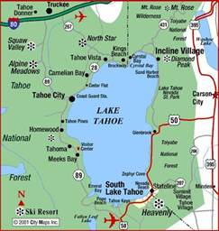 southern california ski resorts map best 25 carson city ideas on lake tahoe